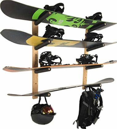 Pro Board Racks Snowboard And Ski Wall Rack
