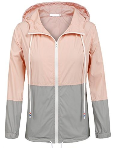 SoTeer Women's Hooded Raincoat