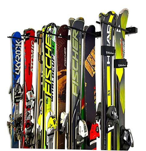 StoreYourBoard Omni 10 Snowboard And Ski Wall Rack