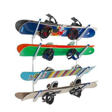 StoreYourBoard Multi Storage Snowboard And Ski Wall Rack
