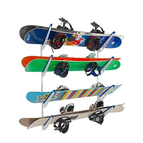 StoreYourBoard Multi Storage Snowboard And Ski Wall Rack