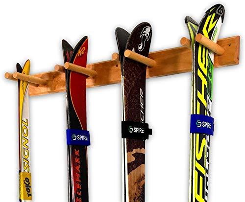 StoreYourBoard Timber Snowboard And Ski Wall Rack