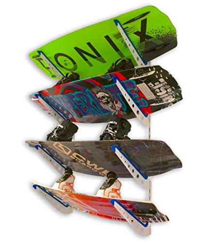 StoreYourBoard Metal Horizontal Snowboard And Ski Wall Rack