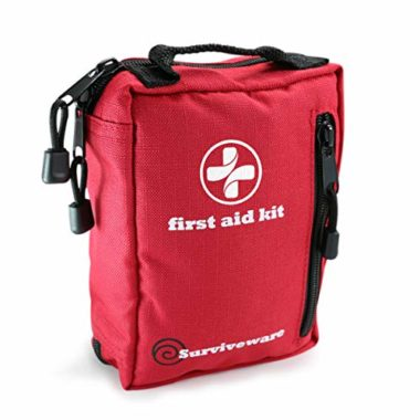 Surviveware Small First Aid Kit for Hiking Survival Gear