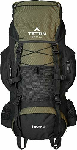 TETON Sports Scout Internal Frame Budget Hiking Backpack