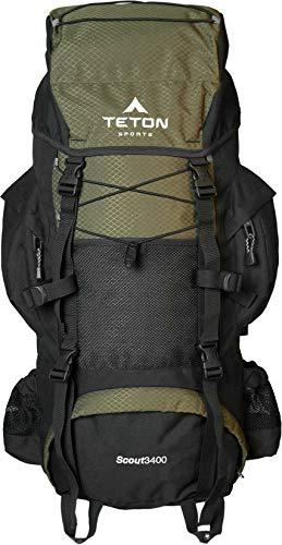 TETON Sports Scout Internal Frame Budget Hiking Backpack