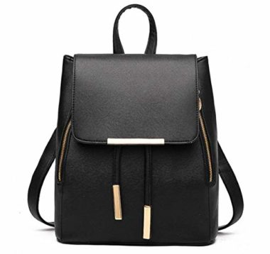 WINK KANGAROO Fashion Travel Women's Leather Backpack