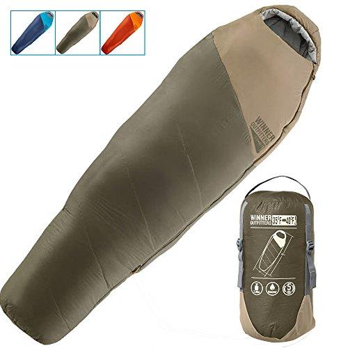 Winner Outfitters Mummy Summer Sleeping Bag
