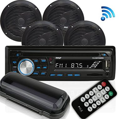 Pyle Wireless Bluetooth Audio Marine Stereo