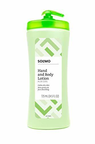 Solimo Aloe Cool Hand & Body Aloe Vera Lotion