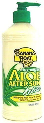 Banana Boat Sun Burn Relief Aloe Vera Lotion