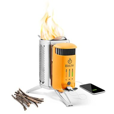 BioLite Electric Generating Wood Burning Camp Stove