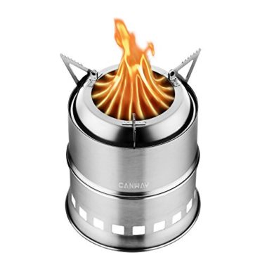 Canway Outdoor Portable Wood Burning Camp Stove