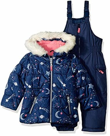 Carter's Girls' Two-Piece Infant Snowsuit