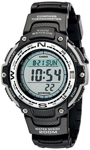 Casio Digital Twin Compass Watch