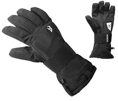Demon Cinch Snowboard Gloves With Wrist Guard