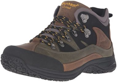 Dunham Men's Cloud Waterproof Flat Feet Hiking Shoes