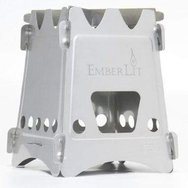 Emberlit Compact Wood Burning Camp Stove