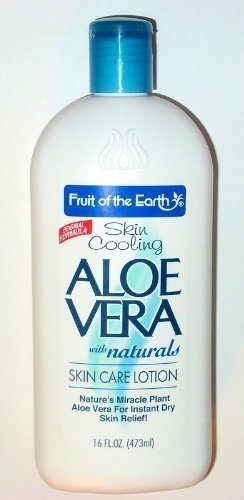 Fruit of the Earth Skin Care Aloe Vera Lotion
