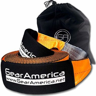 Gear America Recovery Snowmobile Tow Strap