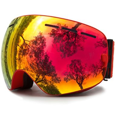 JULI Eyewear Interchangeable Frameless Snowmobile Goggles