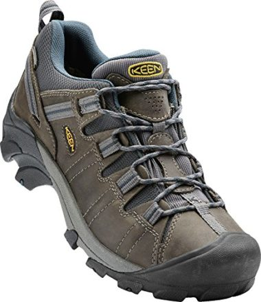 KEEN Men's Targhee II 100% Leather Flat Feet Hiking Shoes