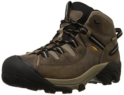 KEEN Men's Targhee II Waterproof Flat Feet Hiking Shoes