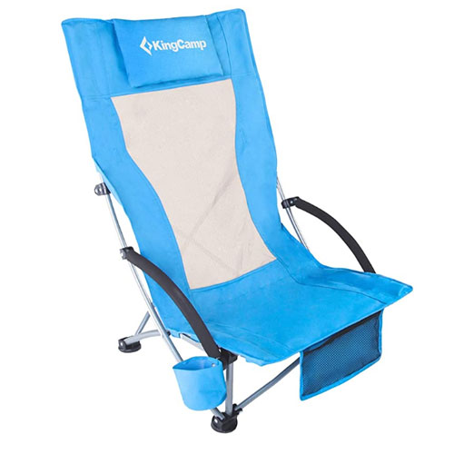KingCamp Low Sling Beach Folding Chair