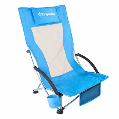 King Camp Low Sling Folding Chair