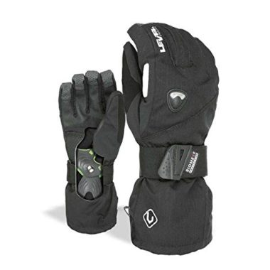 Level Fly Snowboard Gloves With Wrist Guard