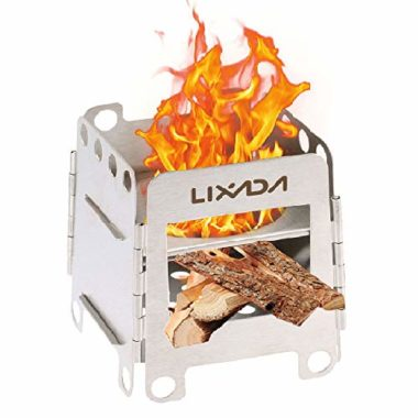 Lixada Folding Wood Burning Camp Stove