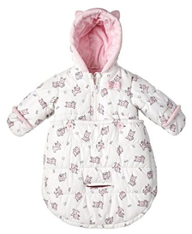 London Fog Puffer Baby Snowsuit