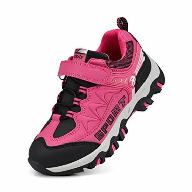 MARSVOVO synthetic leather, Waterproof Kid's Hiking shoes
