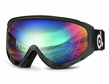 Odoland S2 Anti Fog Snowmobile Goggles
