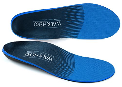 Walk Hero Comfort and Support Orthotics Insoles for Hiking