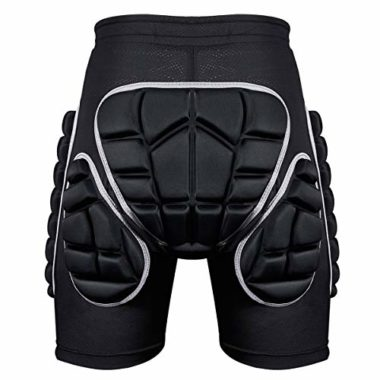 Kuyou Full Protection Ski And Snowboard Padded Shorts