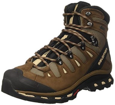 Salomon Men's Quest GTX Lightweight Flat Feet Hiking Shoes