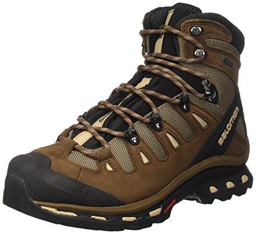 Salomon Men's Quest GTX Lightweight Flat Feet Hiking Shoes