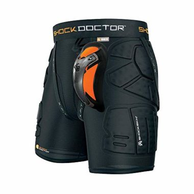 Shock Doctor Shockskin Ski And Snowboard Padded Shorts