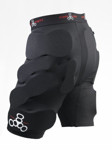 Triple Eight T8 Bumsaver Ski And Snowboard Padded Shorts