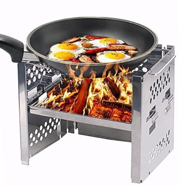 Unigear Portable Folding Wood Burning Camp Stove