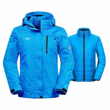 Wantdo Women's 3-In-1 Snowmobile Jacket