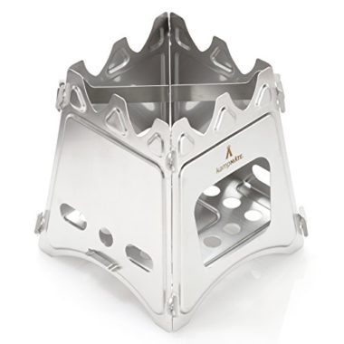 KampMATE Ultra Lightweight Wood Burning Camp Stove