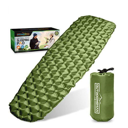 Outdoorsman Lab Sleeping Pads For Side Sleepers