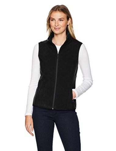 Amazon Essentials Women's Full-Zip Polar Fleece Vest