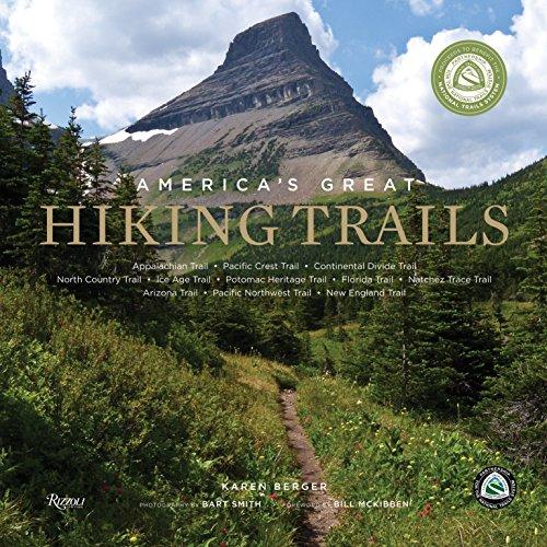 America's Great Hiking Trails Hiking Book