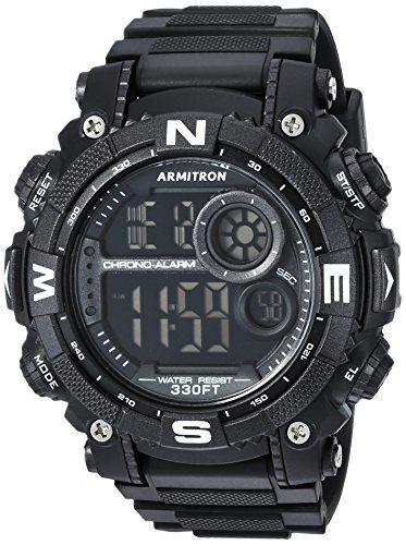 Armitron Sport Men's Digital Chronograph Watch For Skiing