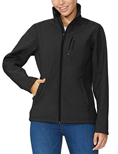 BALEAF Outdoor Fleece Lined Softshell Jacket For Women