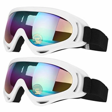 COOLOO Anti-Glare UV 400 Ski Goggles