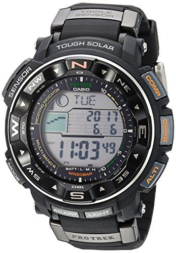 Casio Pro Trek PRW2500R Solar Watch